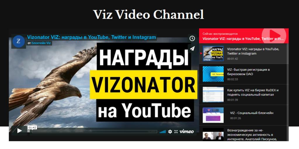 Viz Video Channel