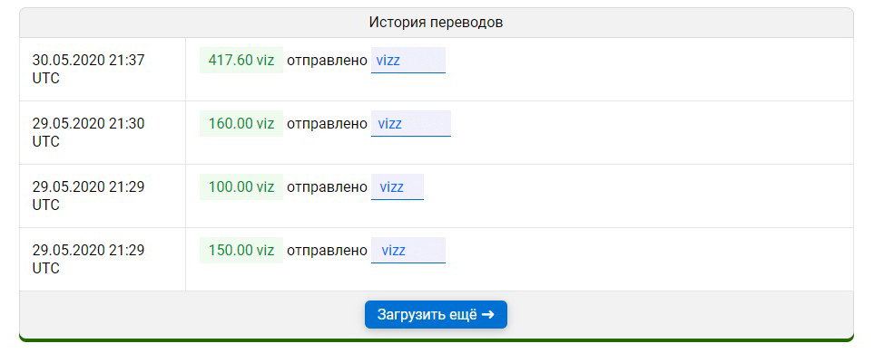 Обновление сервисов VIZ+